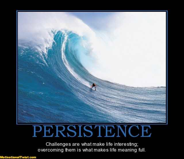 Persistence: The only way for the entrepreneurs
