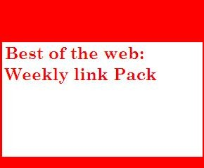 Best of the web: Weekly link pack