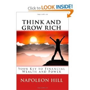 "A burning desire is the starting point of all Human achievement- from a vintage 1938 read ""Think & Grow Rich"" by Napoleon Hill"