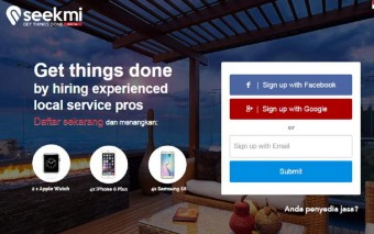 Seekmi: An Indonesian startup Connecting the Service Providers and the Service Seekers