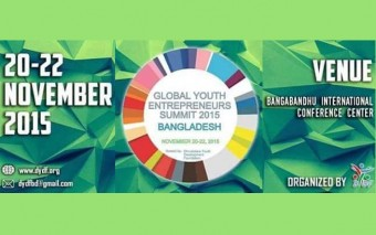 Global Youth Entrepreneurs Summit 2015 To Be Held On 20-22 November