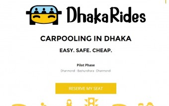 New Carpooling Service DhakaRides Launches In Dhaka