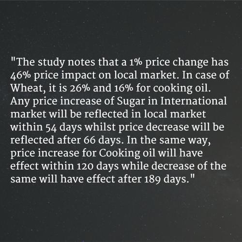Price Changes Paradox