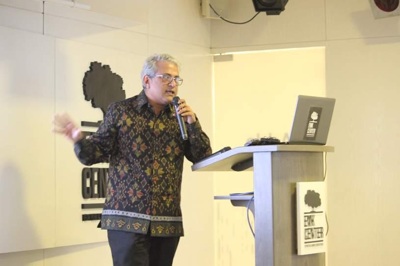 M.K. Aaref of EMK Center Speaking at FSindex launch event