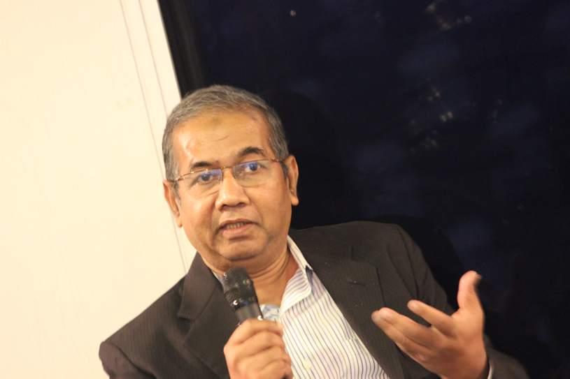 Shawkat Hossain of BD Venture speaking at FSindex launch event