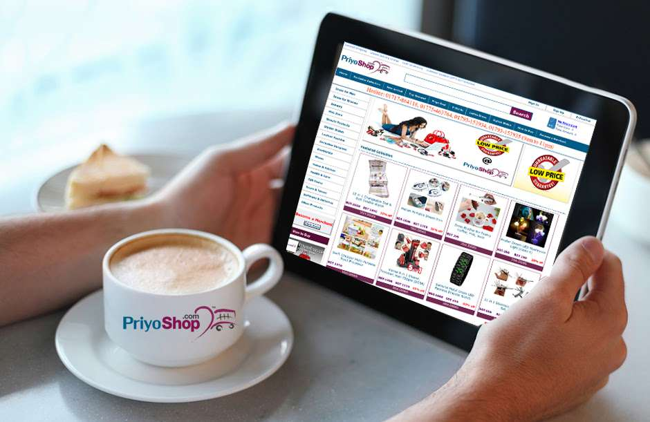 PriyoShop web