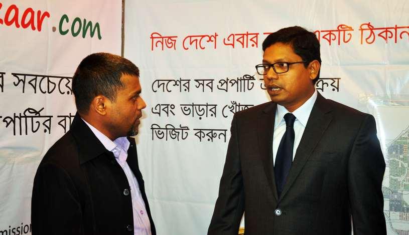 Muhammad Shahin With Hon'able ICT Minister Zunaid Ahmed Palak