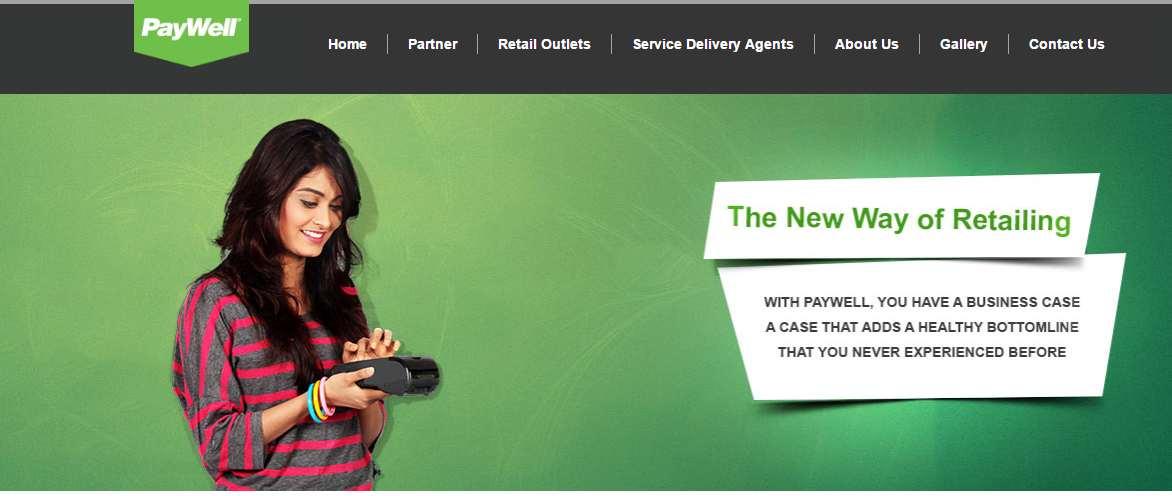 Paywell Web screenshot on Sept 29