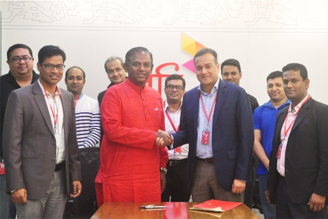 Robi partners with Grameen Intel