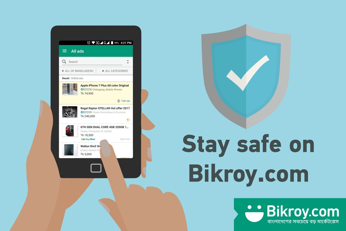 Bikroy takes measures against Fraud