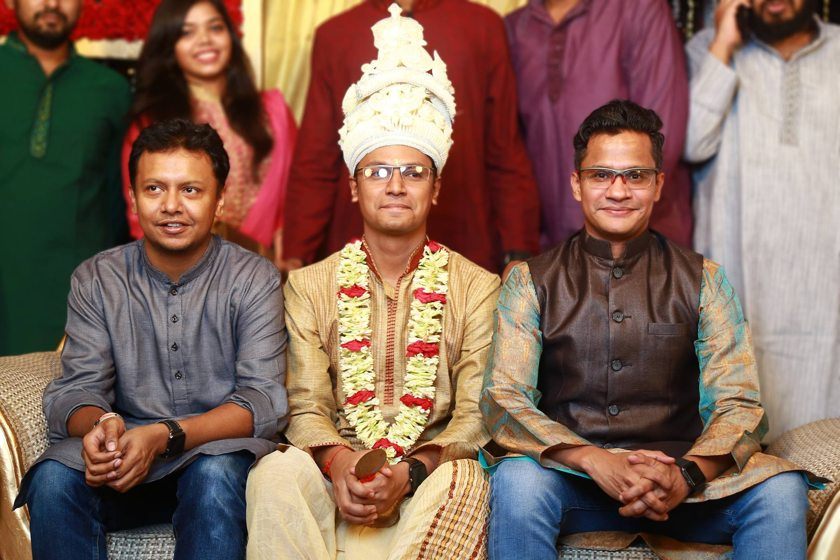 Ridwan Hafiz, Sumit Saha & Risalat Siddique Alvee (from left to right)