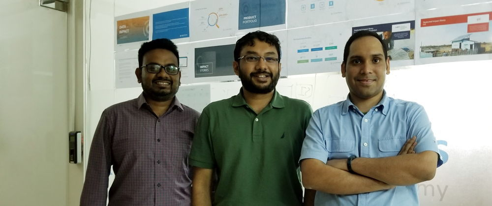 LCP Founders - Zahed, Ivdad, Bijon (from left to right)