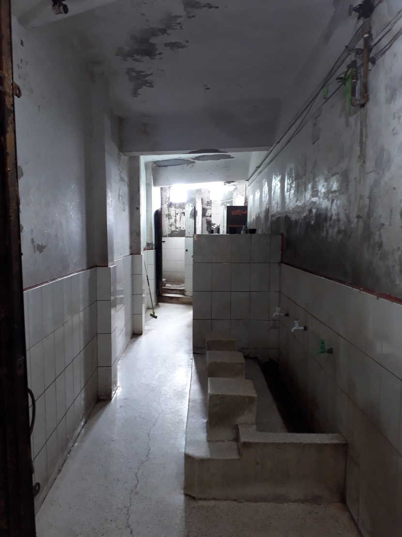 Bhumijo Work: Before renovation of Public Toilet from Bhumijo's recent project