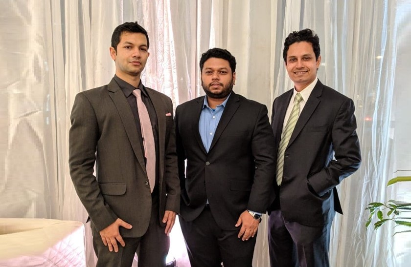 Founders of EDGE AMC Limited, And EDGE Research And Consulting Limited, Asif Khan, Khandakar Safwan Saad and Ali Imam (from left to right)