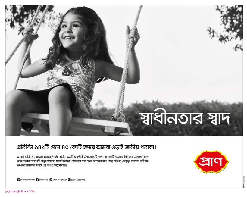 Benchmark's recent work for PRAN