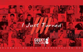 Homegrown Digital Communication Company GEEKY Social Turns 4!