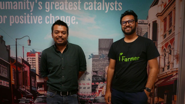 Jamil M Akbar and Fahad Ifaz, Founders, iFarmer (from left to right)