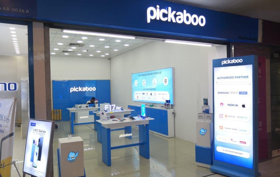 Pickaboo retail outlet