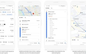 Google Maps Introduces Public Transport Information for Dhaka City Buses and Bangladesh Railway